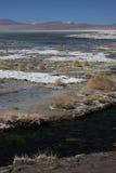 берег salada гор laguna Стоковые Фото