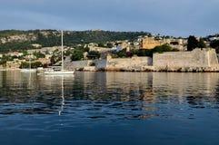 Берег Villefrance стоковое изображение