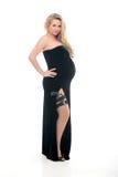Беременная женщина моды стоковые изображения