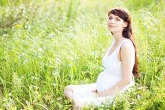 беременная женщина стоковые изображения rf