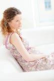 беременная женщина Стоковая Фотография RF