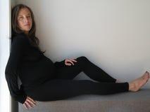 беременная женщина Стоковое Фото