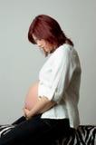 беременная женщина Стоковые Изображения