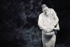 Беременное сердце материнства пар Стоковые Фото