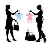 Беременные женщины Стоковая Фотография RF