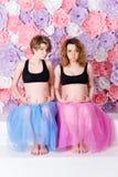 2 беременных подруги Стоковые Фото