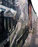 Берлинская стена стоковые фотографии rf