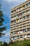БЕРЛИН, ГЕРМАНИЯ - ИЮЛЬ 2014: Corbusier Haus было конструировано мимо Стоковые Изображения