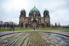 25 01 2018 Берлин, Германия - красивый вид исторического Берлина c Стоковое Изображение