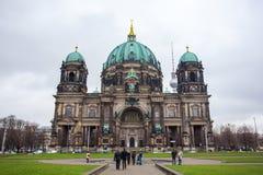 25 01 2018 Берлин, Германия - красивый вид исторического Берлина c Стоковые Фото