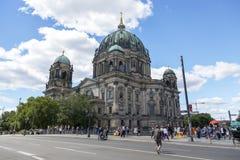 Берлин, Германия - 1-ое июля 2018: Собор Берлина Стоковые Фотографии RF