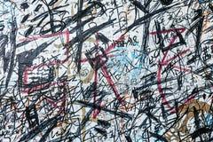 БЕРЛИН ГЕРМАНИЯ 22-ОЕ МАЯ: Искусство улицы художником unknow дальше может 22 2010 в Берлине Германии В виду того что Берлин эпице Стоковое Изображение RF