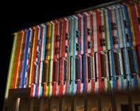 Берлин, Германия - 11-ое октября 2017: Федеральное Министерство финансов стоковые изображения rf