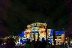 БЕРЛИН, ГЕРМАНИЯ 7-ое октября 2016: Gendarmenmarkt квадрат Стоковые Фотографии RF