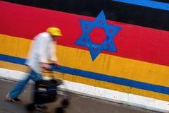 Берлин, Германия - 21-ое сентября 2015: Галерея Ист-Сайд Берлинской стены Стоковые Изображения RF