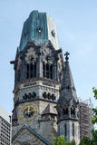 БЕРЛИН, GERMANY/EUROPE - 15-ОЕ СЕНТЯБРЯ: Мемориал Wilhelm императора Стоковое Изображение RF