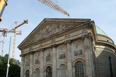 БЕРЛИН, GERMANY/EUROPE - 15-ОЕ СЕНТЯБРЯ: Собор i St Hedwig Стоковое Изображение RF