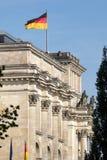 БЕРЛИН, GERMANY/EUROPE - 15-ОЕ СЕНТЯБРЯ: Reichstag в Берлине Стоковое Изображение RF