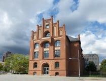 Берлина Tegel здание 2014 кирпичей Стоковые Изображения RF