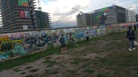 Берлинец Mauer стоковое изображение rf