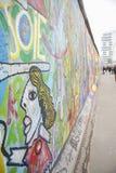 Берлинская стена галереи Ист-Сайд Стоковая Фотография RF