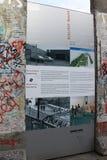 Берлинская стена - Германия Стоковые Фотографии RF