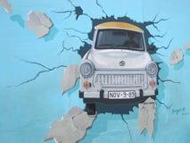 Берлинская стена - штольн Ист-Сайд Стоковые Изображения