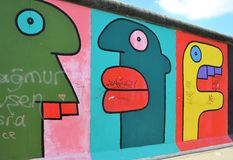 Берлинская стена стоковые изображения