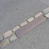 Берлинская стена 1961-1989 Стоковые Изображения RF