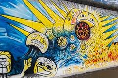 Берлинская стена Стоковое Изображение
