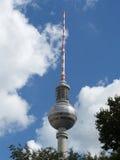 Берлин 2014 Германия, башня телевидения Стоковое фото RF