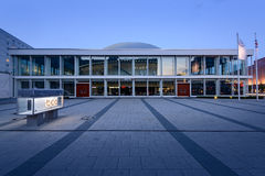 Берлин, Германия - 11-ое мая 2016: Расположенный центр конгресса Берлина Стоковые Изображения