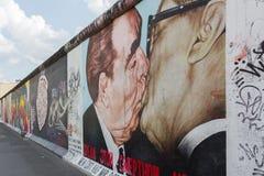 Берлин - краски галереи Ист-Сайд Стоковые Изображения RF