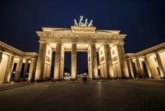 Берлин к ноча! Стоковые Изображения