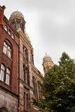 Берлин, новая синагога, красивое здание в стиле Moorish Стоковая Фотография RF