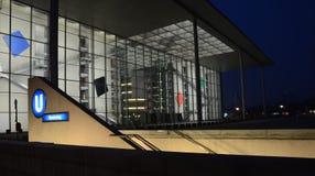 Берлин - Пол-Löbe-Haus Стоковое Изображение RF