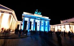 Берлин, фестиваль огней стоковое изображение rf