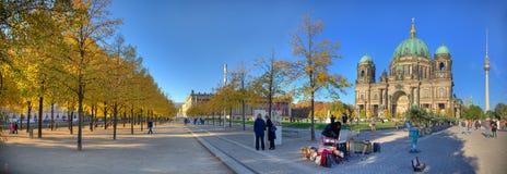 Берлин carthedral и башня 2012 ТВ Стоковые Фотографии RF