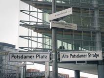 Берлин Potsdamer Platz Стоковая Фотография RF