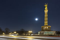 Берлин Siegessaule Стоковое Фото