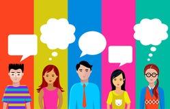 беседа людей Стоковая Фотография RF