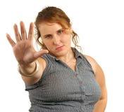 беседа руки к Стоковая Фотография