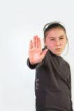 беседа руки к стоковая фотография rf
