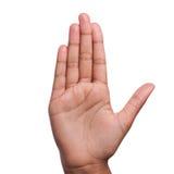 беседа стопа руки к стоковые фото
