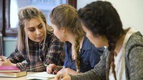 Беседовать одноклассников дисциплины школьного образования сток-видео