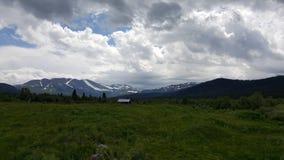 Беседка в горах Стоковые Фото