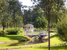 Беседка в парке Стоковая Фотография RF
