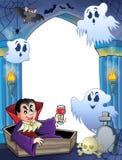 Беседка стены с темой 6 хеллоуина Стоковая Фотография