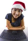 Беседовать на рождестве Стоковое Изображение RF