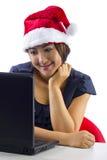 Беседовать на рождестве Стоковое фото RF